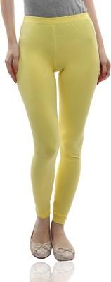 Miss Chase Women's Yellow Leggings