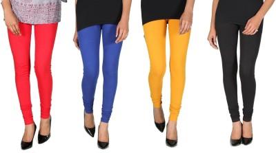 Ally Of Focker Women's Red, Blue, Black, Yellow Leggings