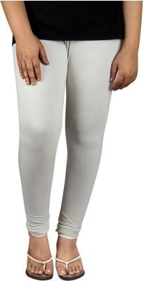 divine creations Women,s White Leggings