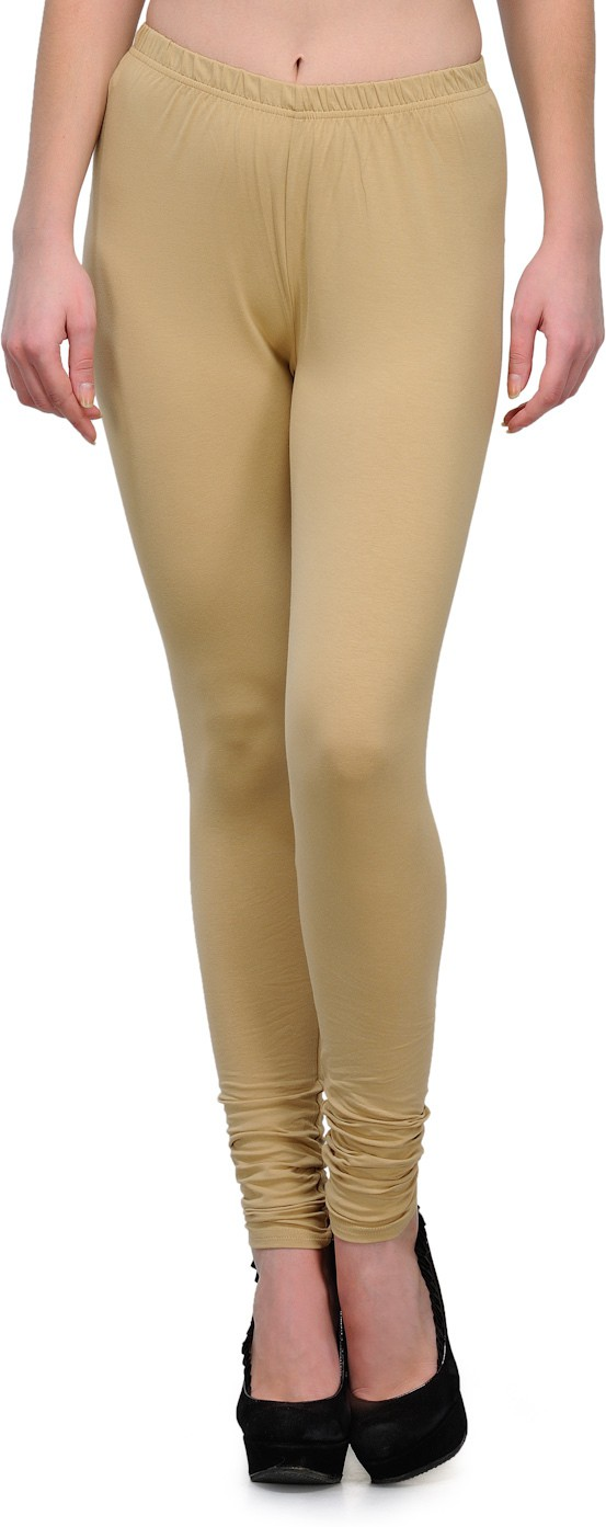 Ffu Womens Beige Leggings