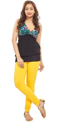Minu Suits Women's Yellow Leggings