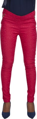 Milano Homme Women's Pink Jeggings