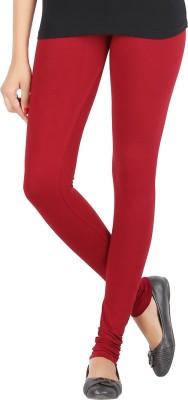 Elance Women's Maroon Leggings