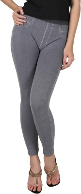 Madaam Women's Grey Leggings