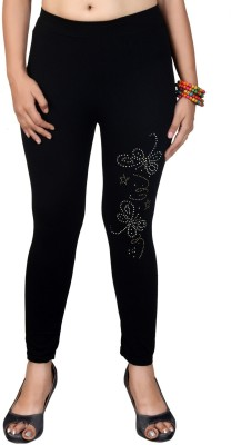 Sanchi Collection Women,s Black Leggings