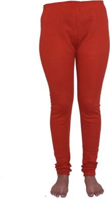 Lovanyaa Women's Orange Leggings