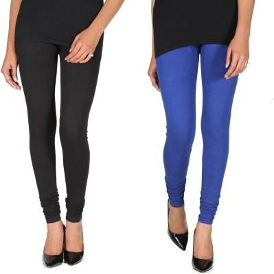 Ally Of Focker Women's Blue, Black Leggings