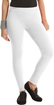 Groversons Women's White Leggings