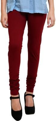 Shopping Queen Women's Maroon Leggings