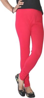 Round Off Women's Red, Orange Leggings