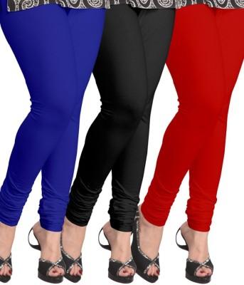 Cynthia's Fashion Women's Blue, Black, Red Leggings