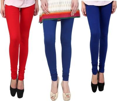 Vastra Buzz Women's Blue, Red, Dark Blue Leggings