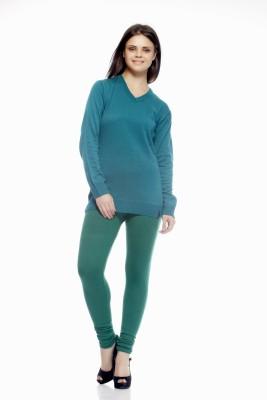 Shopping Queen Women's Blue Leggings