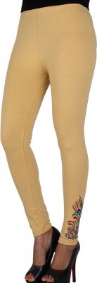 Gagrai Ecom Women's Beige Leggings