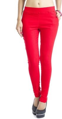 Hardys Women's Red Jeggings