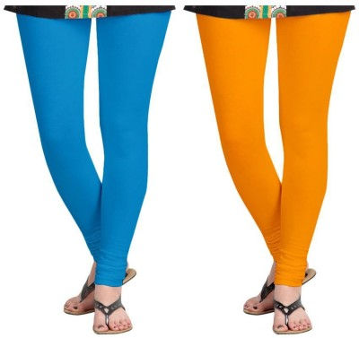 Roshni Creations Women,s Blue, Orange Leggings