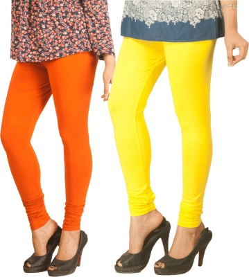 Berries Women's Orange, Yellow Leggings