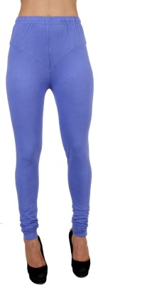C/Cotton Comfort Women's Purple Leggings