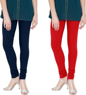 Nicewear Women's Blue, Red Leggings