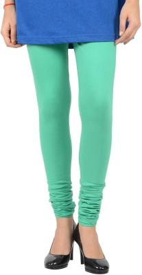 EVIZZA Women's Light Green Leggings