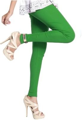 Notyet By Us Women's Green Leggings