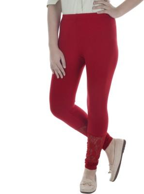 Beatific Women's Red Leggings