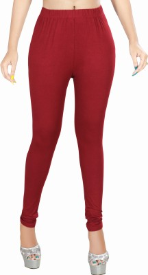 Rivory Bros Women's Maroon Leggings