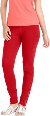 Hbhwear Women's Red Jeggings