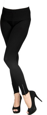 Sheenbottoms Women's Black Leggings