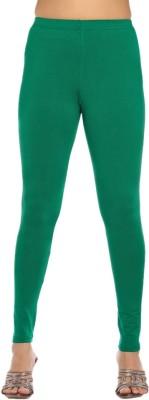 Rasi Silks Women's Green Leggings