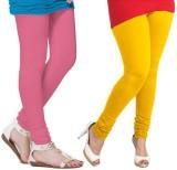 VP Vill Parko Women's Yellow, Pink Leggi...