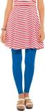 Go Colors Women's Blue Leggings