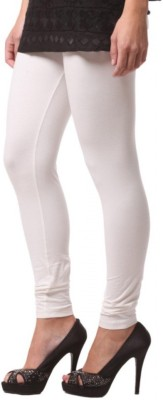 Shree Ji Enterprises Women's White Leggings