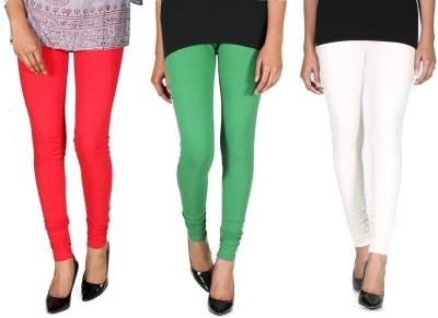 Ally Of Focker Women's Red, Green, White Leggings
