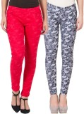 American-Elm Women's Multicolor Jeggings...