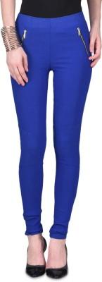 American-Elm Women's Blue Jeggings