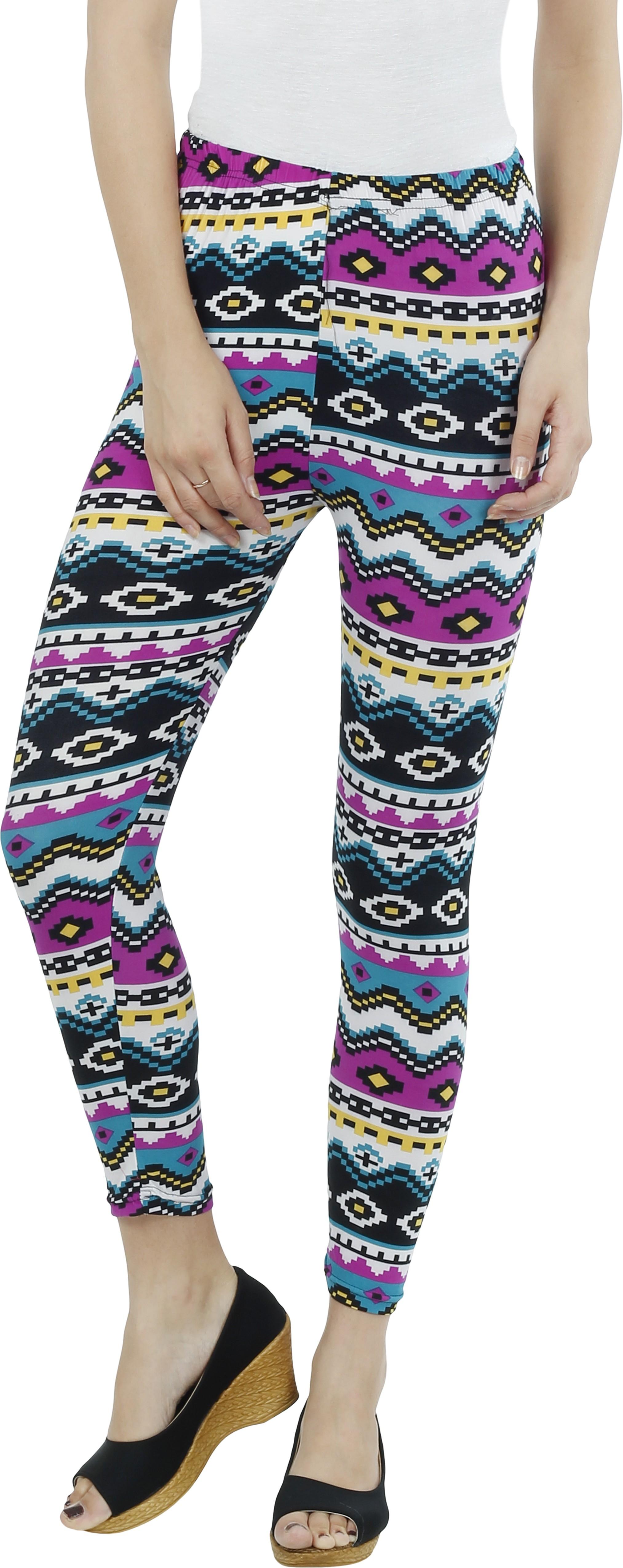 Ten on Ten Womens Multicolor Leggings