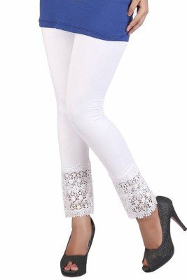 RobinRomeo Women's White Leggings