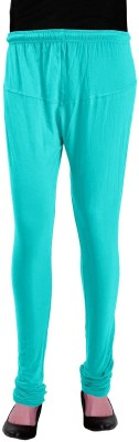 Heart&Arrow Women's Light Green Leggings