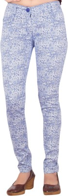 Inddus Women's Purple Jeggings