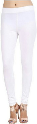 Emblazon Women's White Leggings
