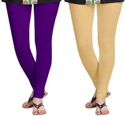 AF Sayonara Women's Purple, Beige Leggings