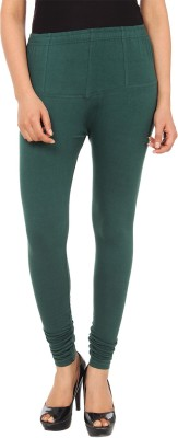 Gudluk Women's Green Leggings
