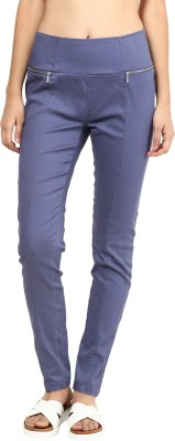 La Rochelle Women's Purple Jeggings