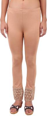 Vv Passion Women's Beige Leggings