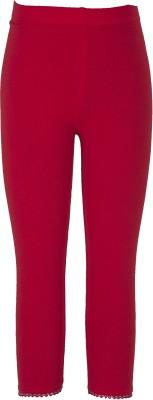 Sera Girl's Red Leggings