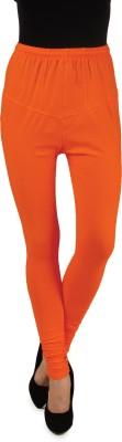 One Femme Women's Orange Leggings