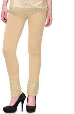 POSE Women,s Beige Leggings