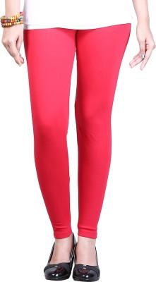 ZyCra Women's Red Leggings
