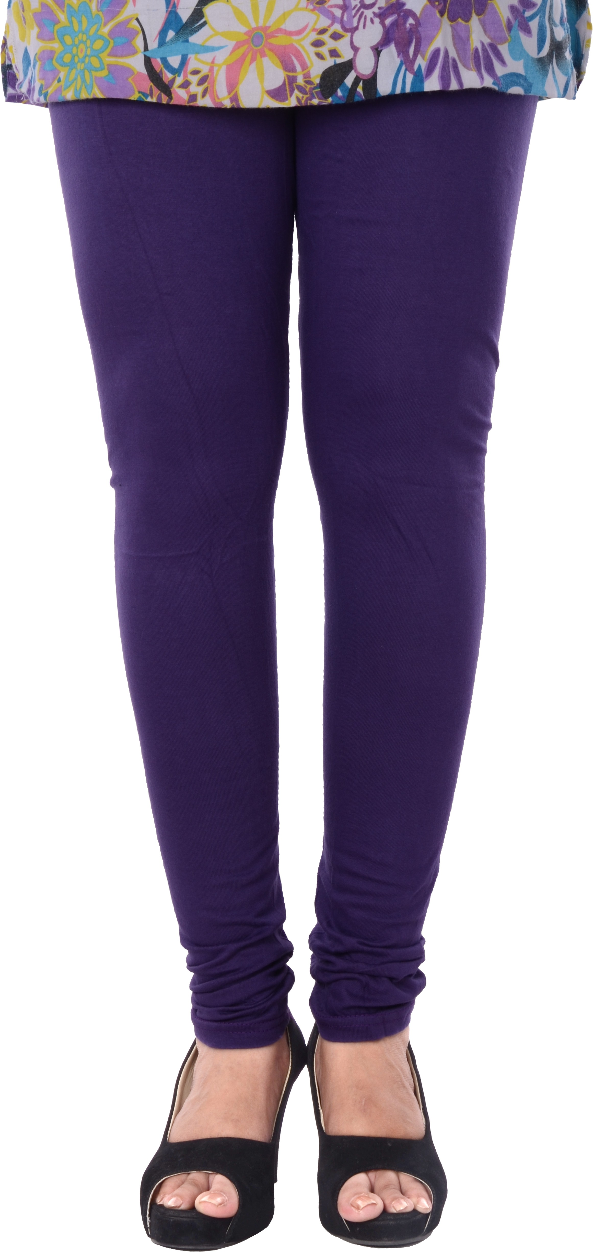 Grafion Womens Purple Leggings